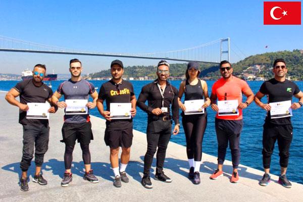 IFPE CERTIFICATION IN TURKEY ISTANBUL
